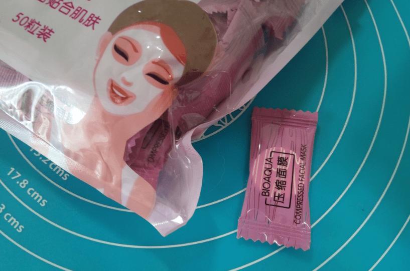 прессованные маски таблетки bioaqua