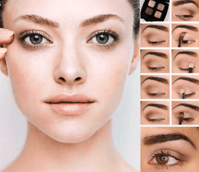 натуральный макияж нюдовый макияж