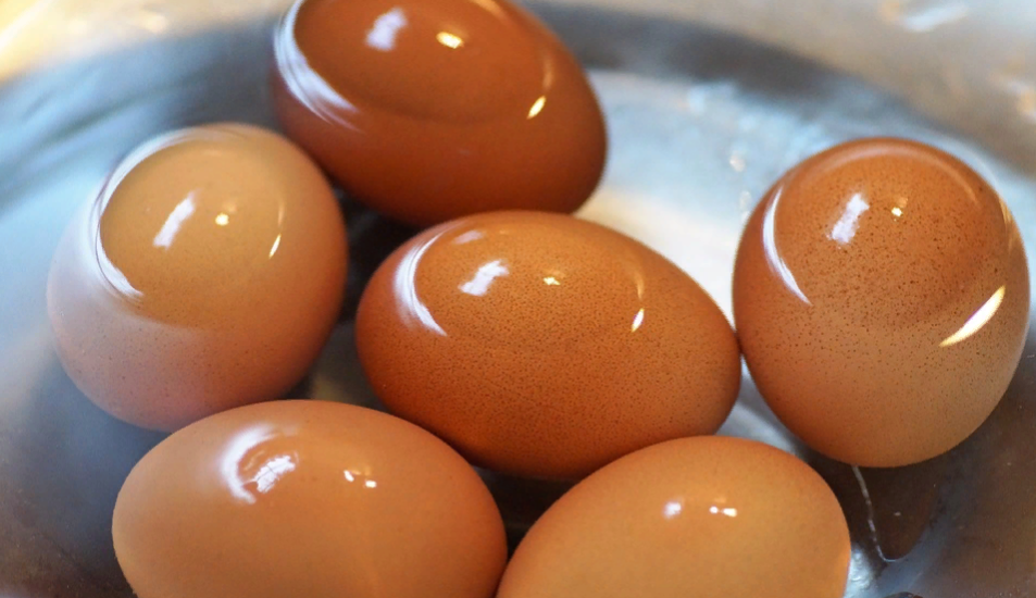 вода после яиц