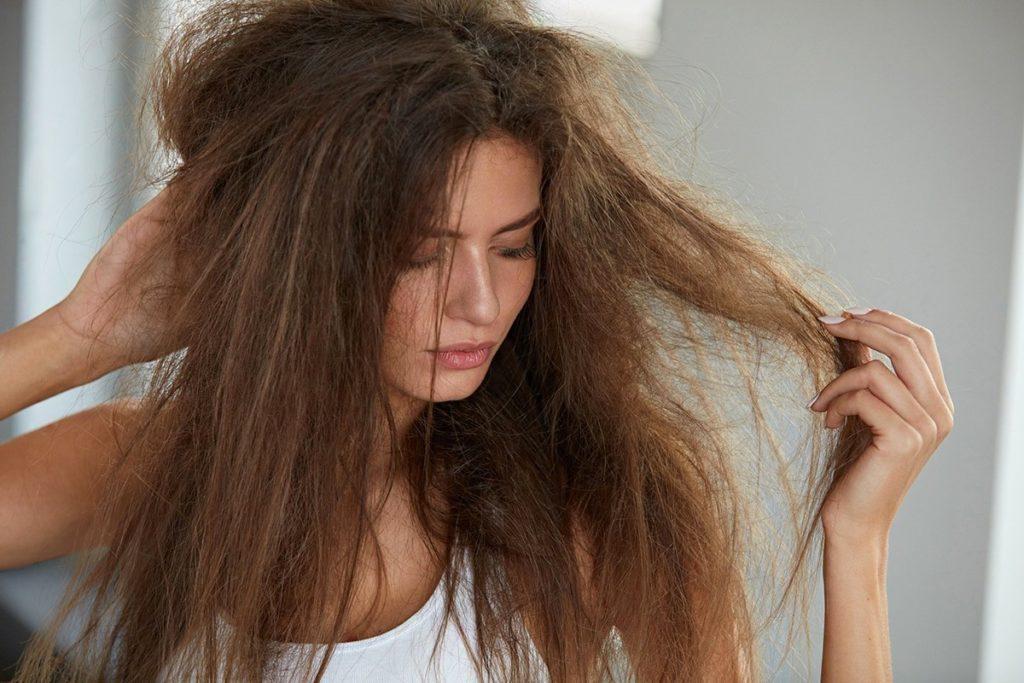 сухие волосы, для сухих волос