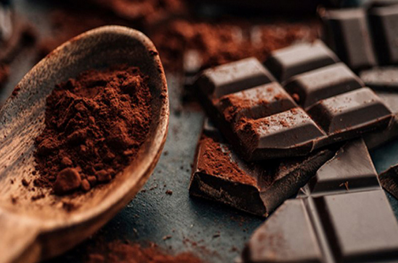 шоколад, темный шоколад, горький шоколад